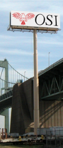 169 Ft Tall Walt Whitman Bridge Plant By Outdoor Specialist, Inc.